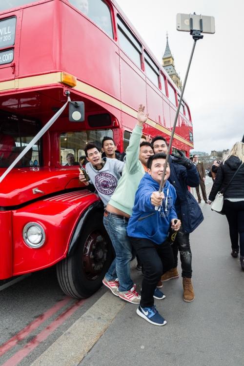 London Selfies